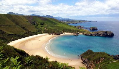 Playa de Torimbia destacada