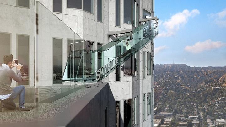 Skyslide Los Angeles