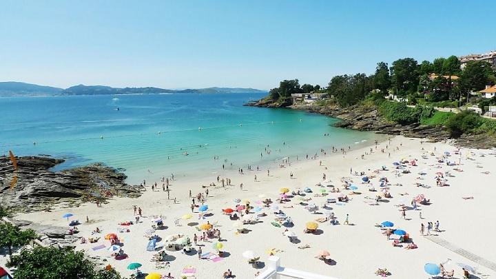 playa de Pontevedra