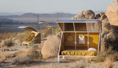 8ddc4a753d8 Original camping futurista en medio del desierto de California