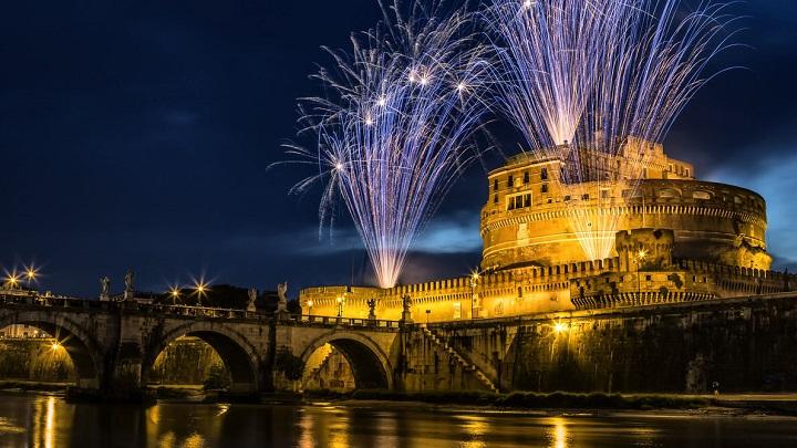 Cena lentejas para celebrar el año nuevo en Roma