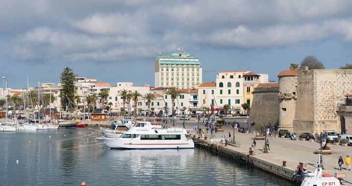 Alghero-puerto