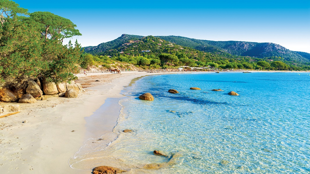 Corcega-playa