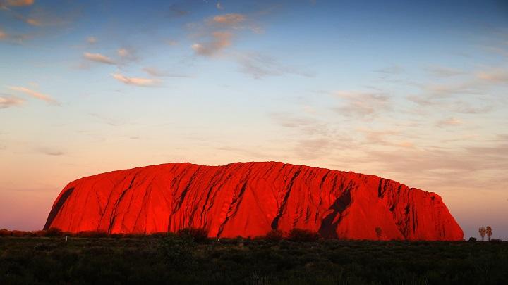 Uluru-atardecer