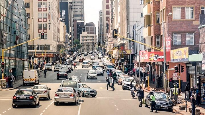Johannesburgo-calle