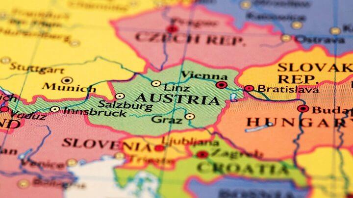 mapa-de-Austria