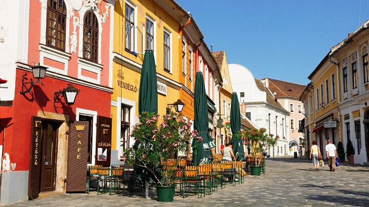 Szentendre-calle