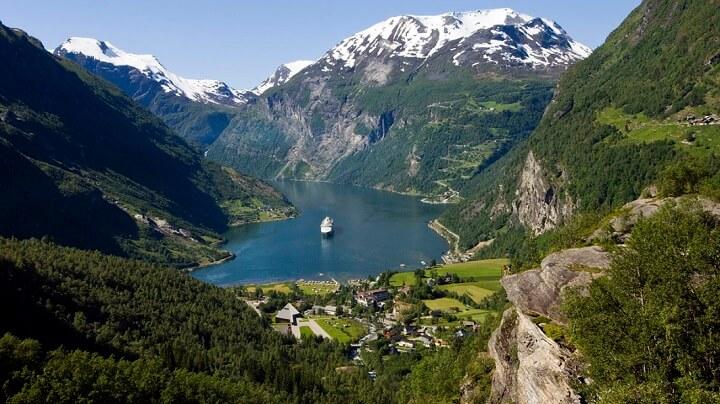 Geiranger-Noruega