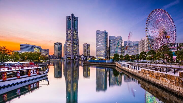 Japon-Yokohama-ciudad