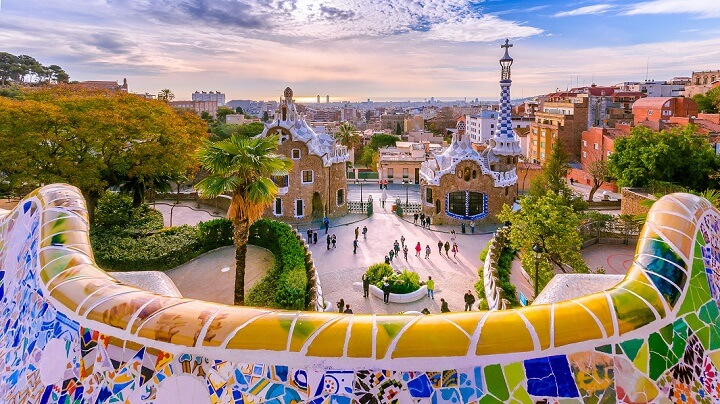 parque-Guell-en-Barcelona